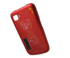 For Samsung i5700 Galaxy Lite Spica Rear Back Door Battery Cover Case Red UK