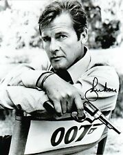 Roger Moore  Autograph , Original Hand Signed Photo