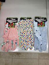 Ladies gardening gloves Set of 3