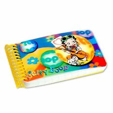 Lenticular Betty Boop Spiral 3D Hippy Guitar Notebook 2x4in200 Page #BB-207-NBM#