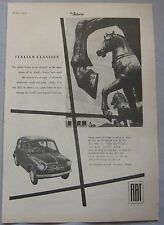 1956 Fiat 600 Original advert No.1