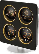 Technoline WS 6830 Amber LED Wetterstation Thermometer + Sensor