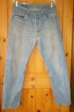 Levi's 501 Vintage Killer Fade Thrasher Jeans Made in USA, 32 x 29.  T253
