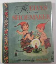THE ELVES AND THE SHOEMAKER 1946 PIED PIPER BOOKS HB DJ MARY PATRIC DORCAS ILLUS