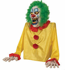 HALLOWEEN ANIMATED GROUND BREAKER CLOWN FOGGER FOG EVIL  PROP DECORATION