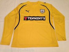 Preston North End 2010-11 (a maniche lunghe) di distanza Camicia L (ffs000297)