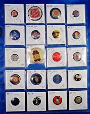Salvation Army Coca Cola Snaiders BSA Advertising Pin Pinback Button Lot of 20