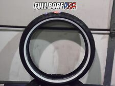 120/70-21 FULL BORE USA WHITEWALL MOTORCYCLE TIRE HARLEY & CUSTOMS