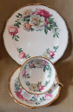 "Royal Standard Vintage Tea Cup and Saucer, ""Irish Elegance"",  Trio set"