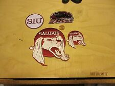 Southern Illinois Salukis 4 Patch Lot Assorted Sizes College