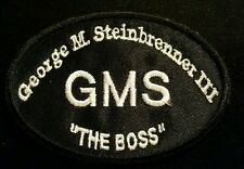 "George M. Steinbrenner- OFFICIAL LEFT CHEST ""RIP"" DEATH PATCH! RARE ON EBAY!!!"