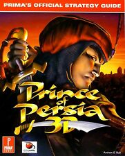 "PC GAME BOOKS - ""PRINCE OF PERSIA 3D"" PRIMA'S OFFICIAL STRATEGY GUIDE - NEW"