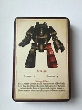 Warhammer 30k - Betrayal at Calth Horus Heresy - set of game cards