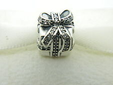 AUTHENTIC PANDORA CHARM SPARKLING SURPRISE HOLIDAY 2014 #791400CZ