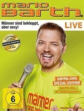 MARIO BARTH - MÄNNER SIND BEKLOPPT,ABER SEXY!  2 DVD NEU