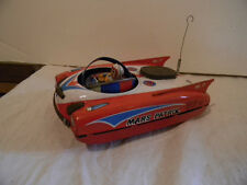 1950'S YANOMAN SHOTEN MARS PATROL NO 17 SPACE ROCKET CAR TIN FRICTION RARE