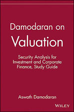 Damodaran on Valuation: Security Analysis for Investment and Corporate...