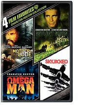 CHARLTON HESTON 4 FILMS: SOYLENT GREEN OMEGA MAN+ 4 DVD