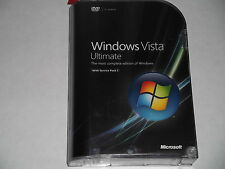 MICROSOFT WINDOWS VISTA ULTIMATE 32 & 64 BIT FULL VERSION