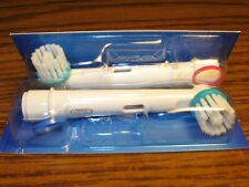 Two Braun Oral-B Ortho Electric Toothbrush Brush Heads for Braces/Orthodontics