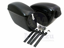 Mutazu LW Hard Saddlebags fits most V Star 650 1100 Road 1600 1700 Warrior