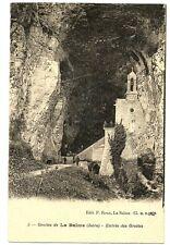 CPA 38 Isère Grotte de la Balme Entrée des Grottes