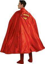 """ADULT SUPER HERO SUPERMAN RED 50"""" CAPE COSTUME ACCESSORY RU888202"""