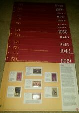 50 Years of U.S. Commemorative Stamps 1939-1960