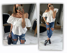 Fashion Women Sexy Off Shoulder Casual Blouse Summer Tops Beach T Shirt XL