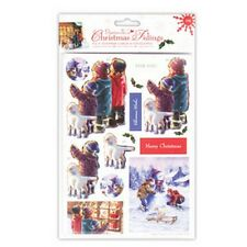 "Papermania Natale NOVELLE passo-passo 4x4"" Carte & Buste-VETRINA (Pac 4"