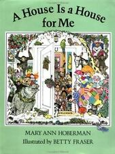 A House Is a House for Me Hoberman, Mary Ann Hardcover