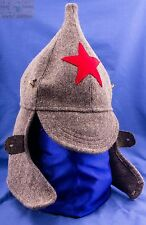 Red Army Russian Soviet USSR Hat Cap Uniform BUDENOVKA red star Soldiers hat