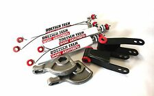 "DAKOTA 97 LIFT KIT 1-3"" TORSION KEYS 2"" SHACKLES L DOETSCH TECH NITRO SHOCKS 4WD"