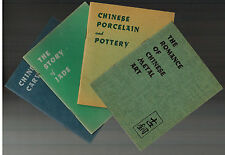 4 Little Vintage Chinese collector books by H. T. Morgan - Quon-Quon 1941
