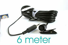 Tie Clip Collar mic Lapel for CANON EOS DSLR 600D 6D 7D 650D 700D 60D 5D - 3.5m