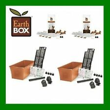 2 PACK TERRA EARTHBOX COMPLETE PLANTING KIT W/STAKE KIT