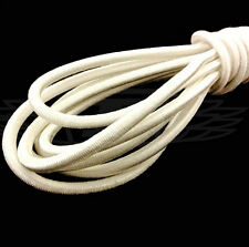 10M*5mm White Strong Elastic Bungee Rope Shock Cord Tie Down DIY Jewelry Making