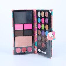 18 color eye shadows+2 blush+pressed powder+3 Lip frozen+2 Eyebrow Makeup Set T6