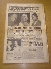 MELODY MAKER 1959 JANUARY 10 COUNT BASIE DUKE ELLINGTON CLEO LANE JOHN LEWIS +