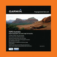 Latest 2016 Garmin Australia & New Zealand Topo Map V5 + Micro SD Card