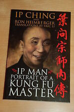 Ip Man Portrait of a Kung Fu Master by Ip Ching Yip Man, WT Wing Tsun, Bruce Lee