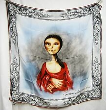 ITALY Moschino Cheap and Chic SETA Silk 34x34 Women Scarf Lady GORGEOUS Gift NEW