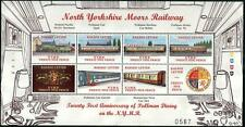 SR Hartland & NYMR PULLMAN Dining Trains Railway Letter Stamp Sheet/2000/MS103