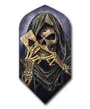 1 Set ALCHEMY Grim Reaper Slim Dart Flights 100 Micron, Ex-Tough  ANARCHY