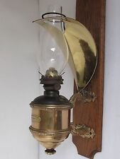 Antique Nathan Dohrman Oil Lamp with Smoke Bell 1880's San Francisco