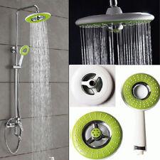 Bathroom ABS  Round Spray Rain Rainfall Top Hand-held  Spray Rain Shower Head #W
