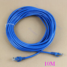 HOT 30ft 10M CAT5E CAT5 RJ45 Ethernet Internet Network Patch Lan Cable Cord Blue