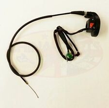 Throttle Housing with R/H Switchgear & Throttle Cable Set for GY200 Enduro