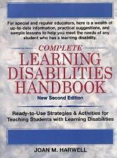 Complete Learning Disabilities Handbook: Ready-to-Use Strategies & Act-ExLibrary