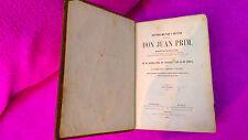 HISTORIA MILITAR,POLITICA DEL GENERAL D JUAN PRIM, FRANCISCO GIMENEZ GUITED 1860